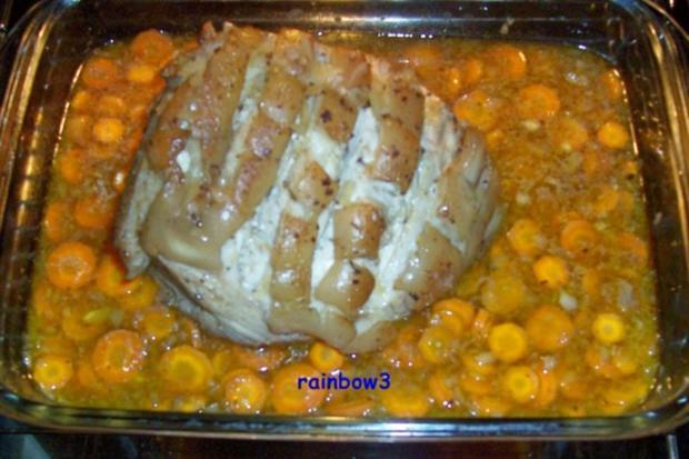 Kochen: Krustenbraten ... bei Niedrigtemperatur gegart - Rezept - Bild Nr. 4