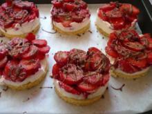 Erdbeertörtchen - Rezept