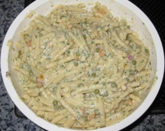 Nadine´s Vegetarischer Nudelsalat - Rezept