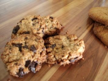 Peanutbutter Cookies ohne Mehl - Rezept