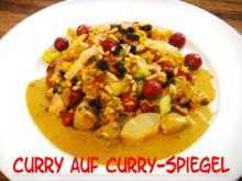 Curry auf Curry-Spiegel - Rezept