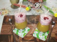 Irenes Rhabarber-Dessert mit Joghurt - Rezept