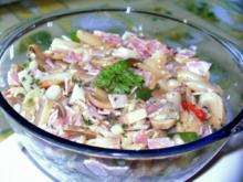 Spargel - KOCHSCHINKEN - Salat - Rezept