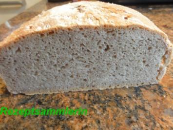 """Brot:  ROGGENBROT   """"Frankenlaib"""" - Rezept"""