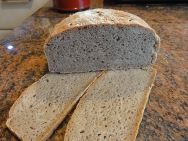"""Brot:  ROGGENBROT   """"Frankenlaib"""" - Rezept - Bild Nr. 2"""