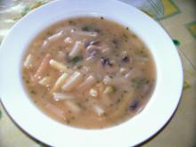 Spargel - Champignon - Cremesuppe - Rezept