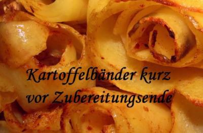 Knobi - Kartoffelbänder - Rezept