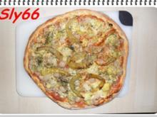 Pizza Tonno-Artischocke - Rezept