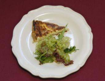 quiche lorraine mit zucchini rezepte. Black Bedroom Furniture Sets. Home Design Ideas