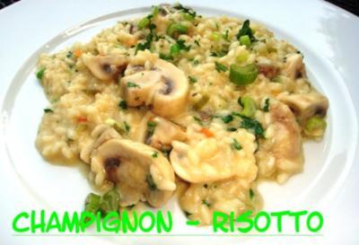 Champignon - Risotto - Rezept
