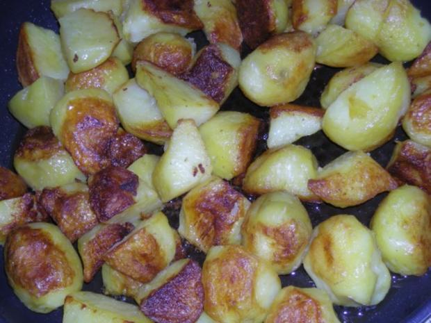 Spinat, Spiegelei & Bratzkartoffeln - Rezept - Bild Nr. 2
