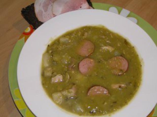 snert niederlandische erbsen suppe - Rezept