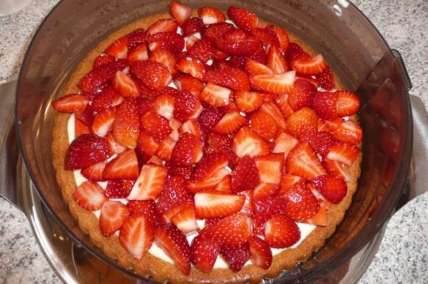 Kuchen: Erdbeertorte - Rezept - Bild Nr. 3
