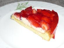 Kuchen: Erdbeertorte - Rezept