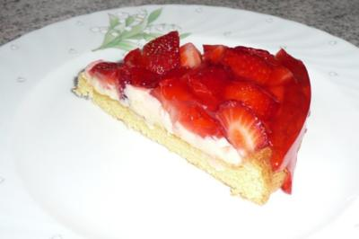 Rezept: Kuchen: Erdbeertorte