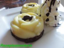 Dessert:  SCHOKO - VANILLE - PUDDING - Rezept