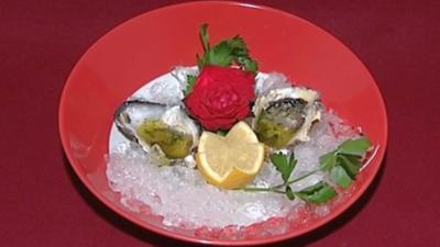 Austern - Aphrodisiakum auf Eis (Mia Gray) - Rezept