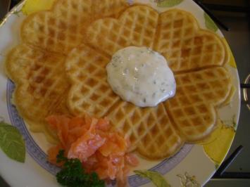 American Raised Waffles ~ herrlich lockere Hefewaffeln - Rezept