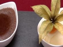 Waldenbucher Schokoladenküchle, Holunderblüten-Eis und Wald-beerenkompott (Alexander H.) - Rezept