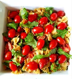 Rezept: Italienischer Farfalle-Salat