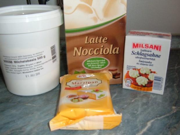 Eis : Latte - Marzipan - Rezept - Bild Nr. 4