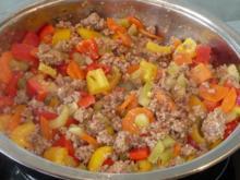 Hackfleisch: Hack - Gemüsepfanne - Rezept