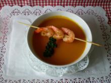 Kürbissuppe mit Kokosmilch - Rezept