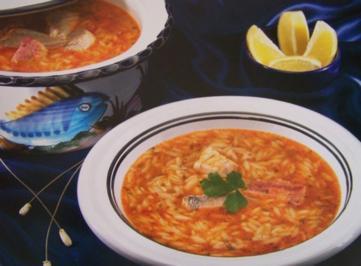 Mediterrane Fisch-Chorba - Rezept