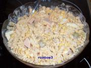 Salat: Nudelsalat mit Joghurt-Dressing - Rezept