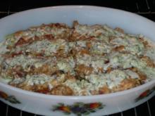 Gemüse: Salatgurken gefüllt und überbacken - Rezept