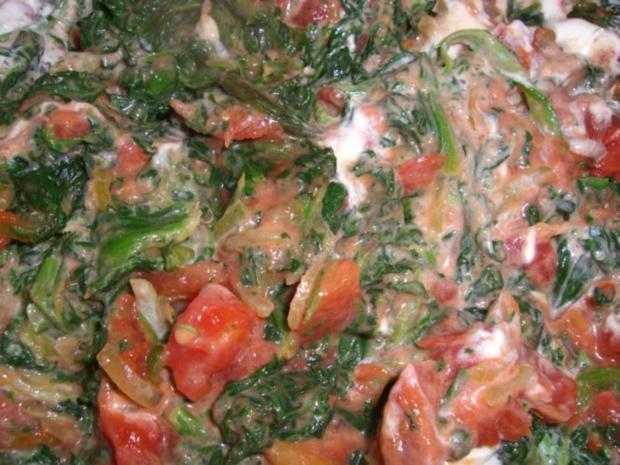 ~ Fleischlos ~ Spinat - Knöpfle - Topf überbacken - Rezept - Bild Nr. 4