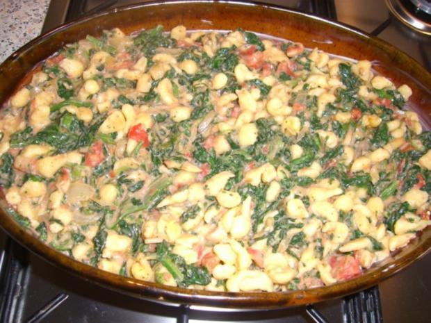 ~ Fleischlos ~ Spinat - Knöpfle - Topf überbacken - Rezept - Bild Nr. 6