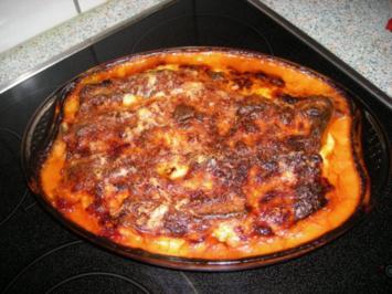 Canneloni mit Schafskäse & getr. Tomaten - Rezept