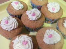 Erdnussbutter-Cupcakes - Rezept