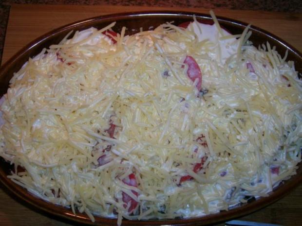 Puten Saltimbocca mit Kartoffel-Tomaten-Gratin - Rezept - Bild Nr. 5