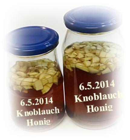 Knoblauchhonig - Rezept
