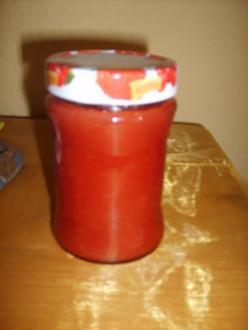 Erdbeer-Rhababer Marmelade - Rezept