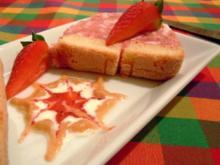 Erdbeer-Hüttenkäse-Terrine - Rezept