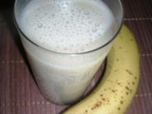 Hafermilch- Bananenshake - Rezept