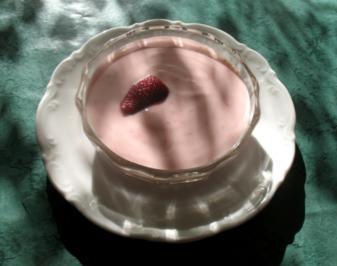 Dessert - Erdbeer-Joghurt - Rezept