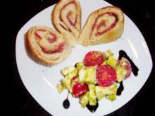Brot: Anello di pane con Serrano - Rezept