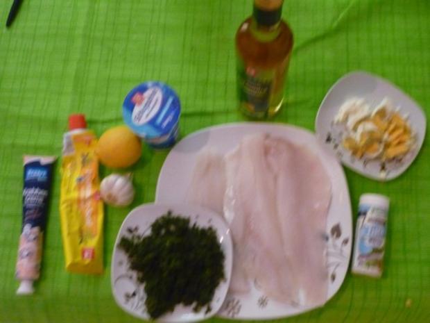 Fischroulade in Kräuter- Senfsauce - Rezept - Bild Nr. 2