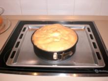 Rhabarber Kuchen mit Baiser - Rezept