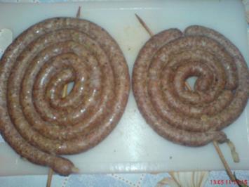 WURSTEN.....~ Käsebratwurstschnecken ~ zum Grillen oder Braten - Rezept