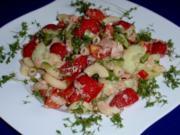 Fruchtiger Thunfisch-Nudelsalat - Rezept