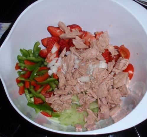 Fruchtiger Thunfisch-Nudelsalat - Rezept - Bild Nr. 8