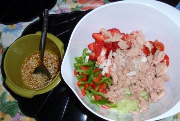 Fruchtiger Thunfisch-Nudelsalat - Rezept - Bild Nr. 10
