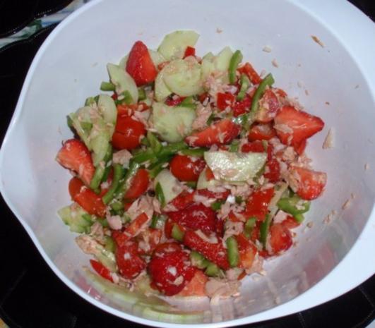 Fruchtiger Thunfisch-Nudelsalat - Rezept - Bild Nr. 11