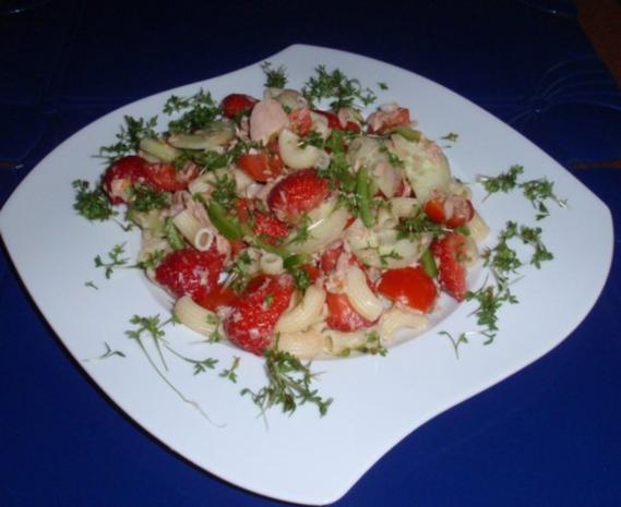 Fruchtiger Thunfisch-Nudelsalat - Rezept - Bild Nr. 12