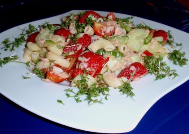 Fruchtiger Thunfisch-Nudelsalat - Rezept - Bild Nr. 13